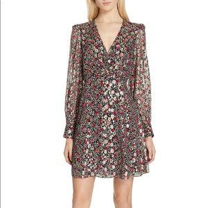 Kate Spade NY Floral Clip-dot dress